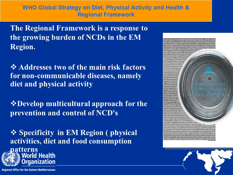 WHO Global Strategy on Diet, Physical Activity and Health &