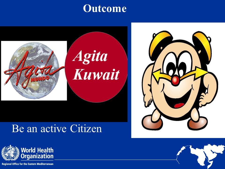 Outcome Be an active Citizen 20