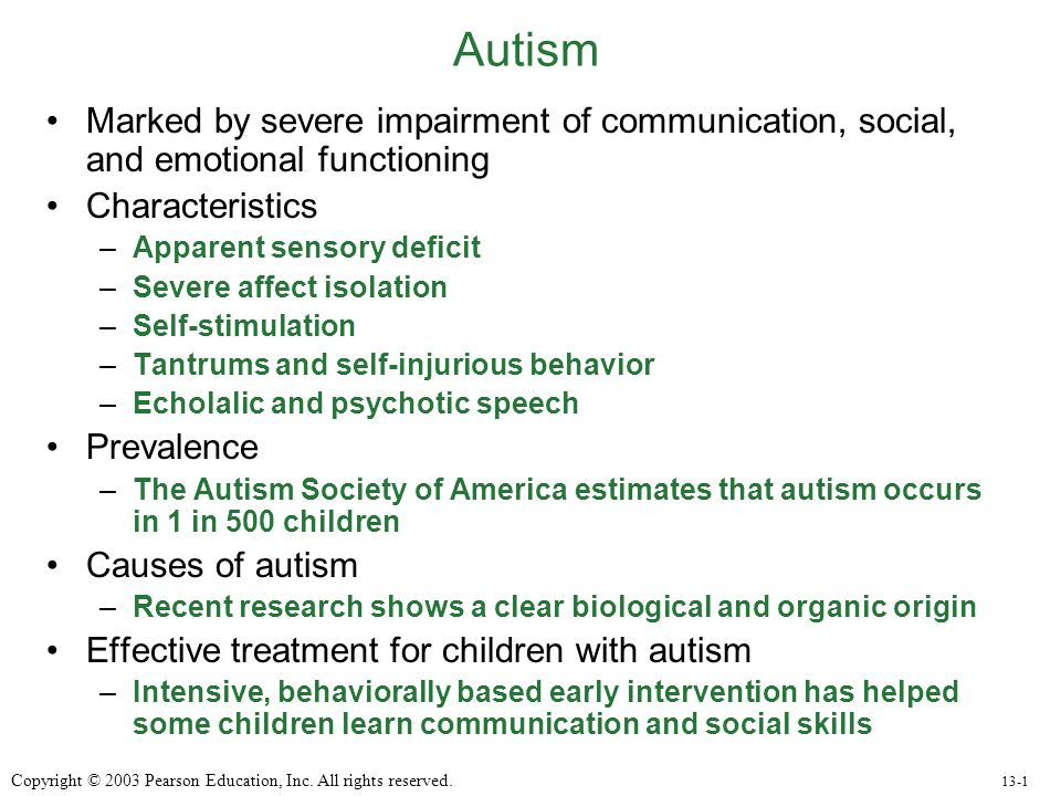 autism characteristic Common characteristic associated with childhood  although it is commonly believed that children with autism exhibit a variety of auditory complications.