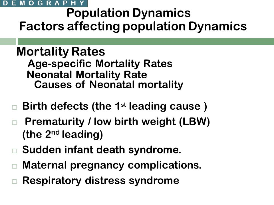 factors affecting population Factors affecting populations by rgamesby populations are affected by many factors, the main natural ones being birth rates and death rates which affect the level of natural change (increase or decrease) within the population.