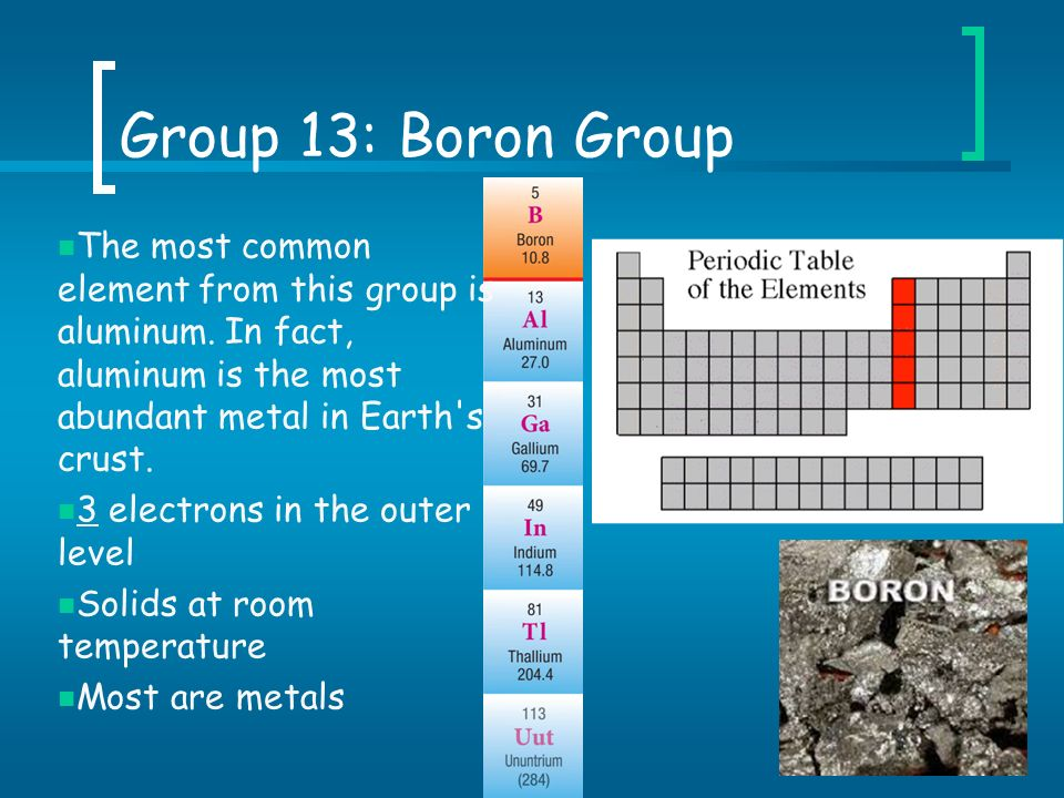 How Is Boron Used In Nature