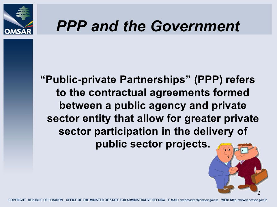 PPP and the Government