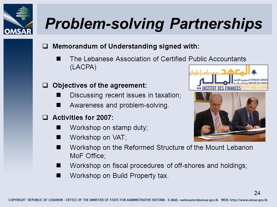 Problem-solving Partnerships
