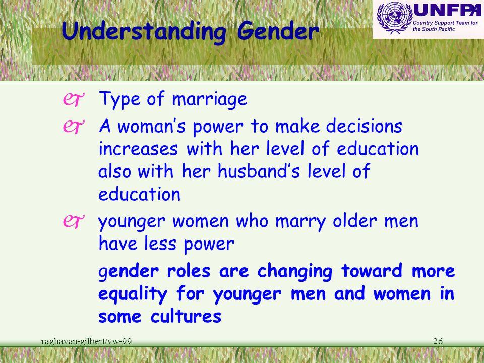 Understanding Gender Type of marriage