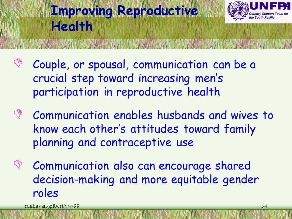 Improving Reproductive Health