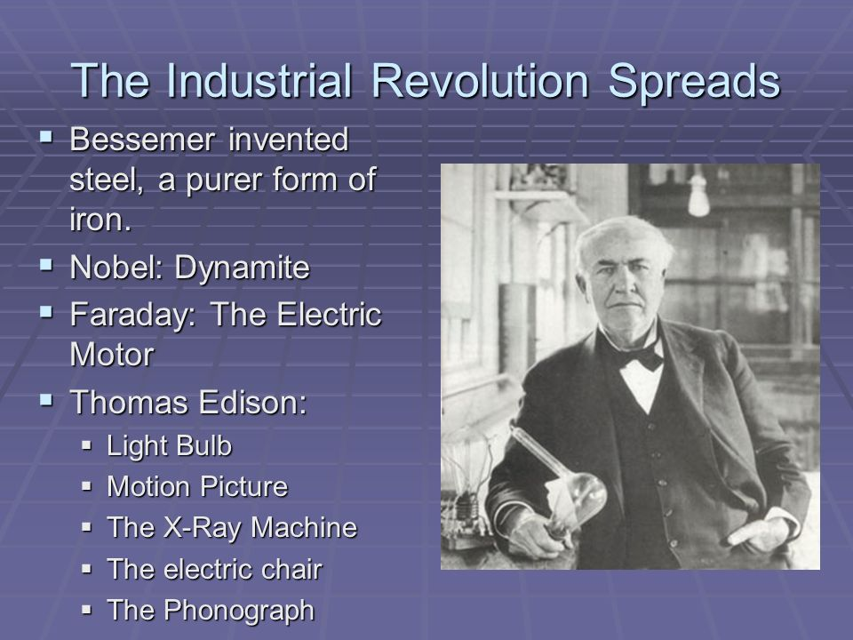 The Industrial Revolution Spreads - ppt video online download