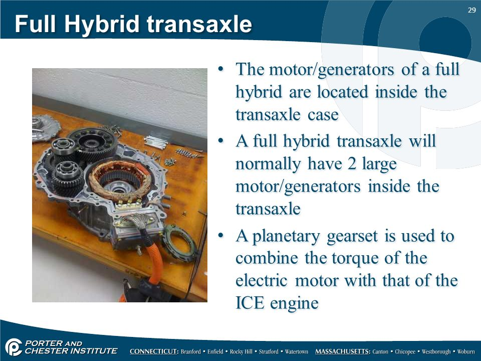 Introduction to hybrid vehicles ppt video online download for What is found in a generator and motor