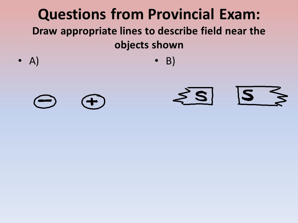 Scribble Drawing Questions : Field lines ppt video online download