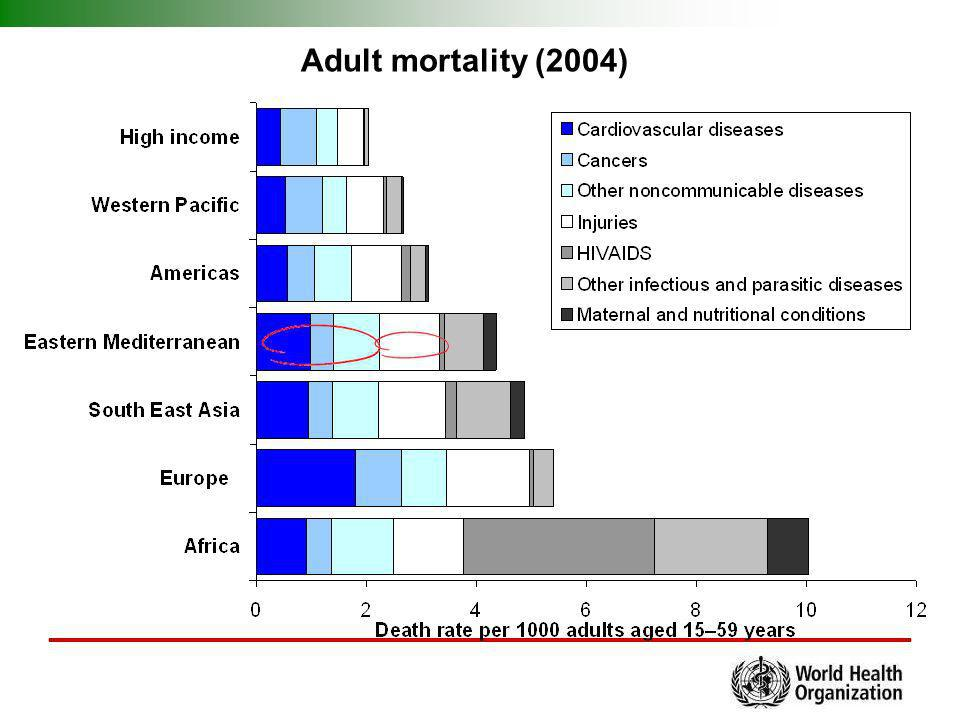 Adult mortality (2004)