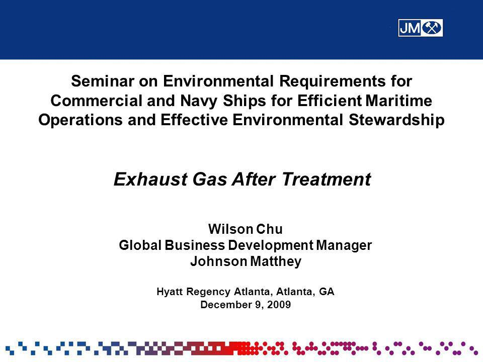 Exhaust Gas After Treatment