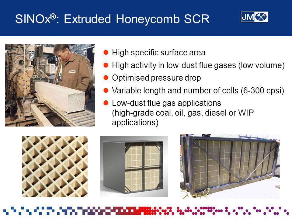 SINOx®: Extruded Honeycomb SCR