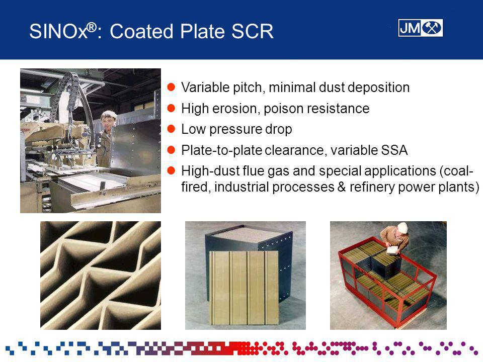 SINOx®: Coated Plate SCR