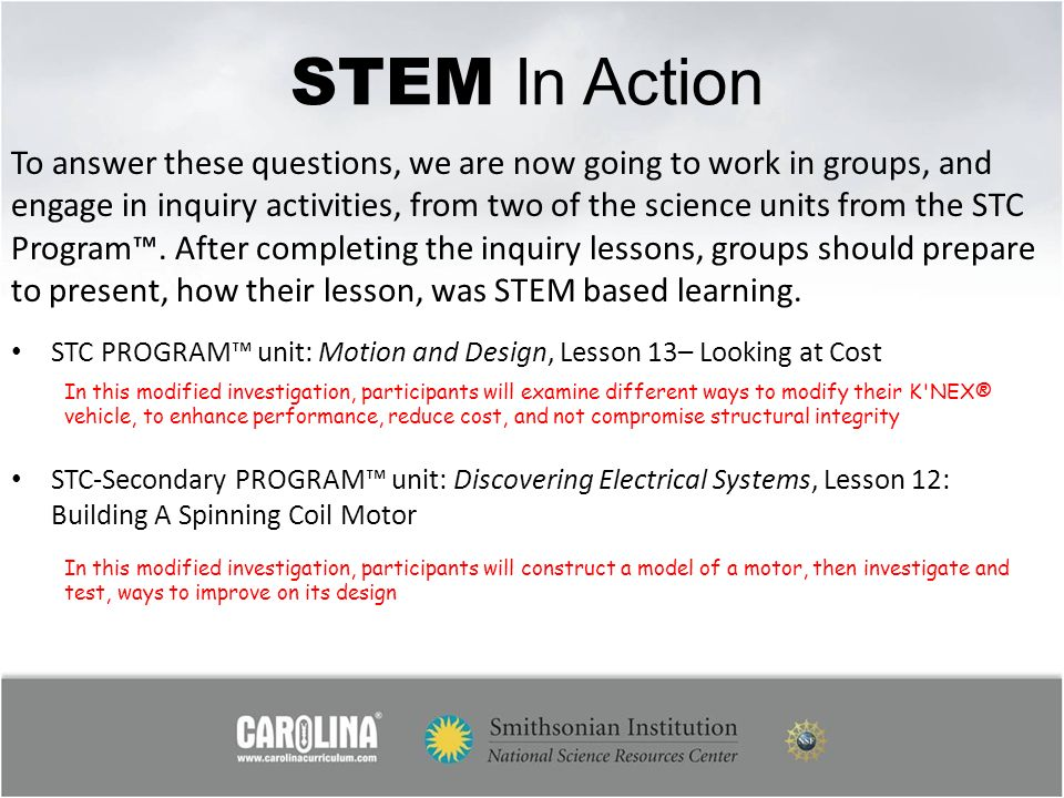 STEM In Action
