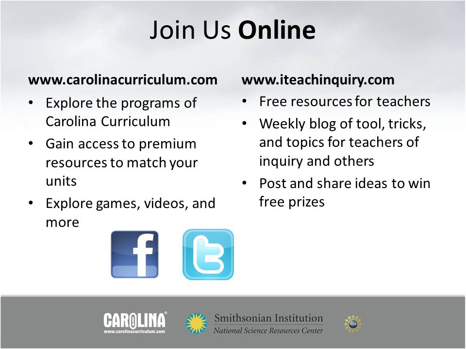 Join Us Online