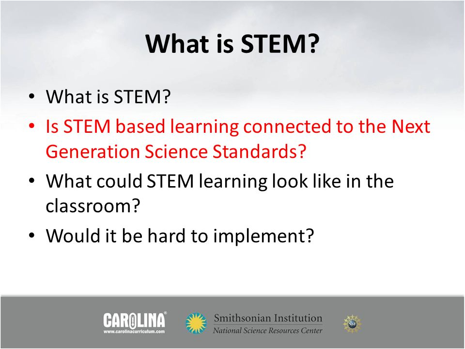 What is STEM What is STEM