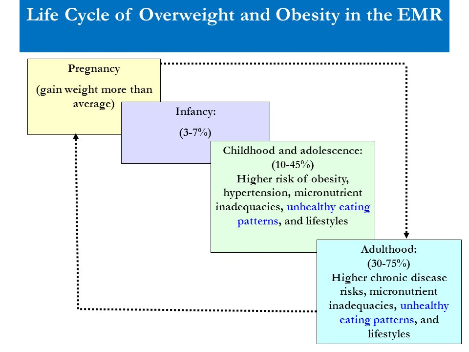Life Cycle of Overweight and Obesity in the EMR