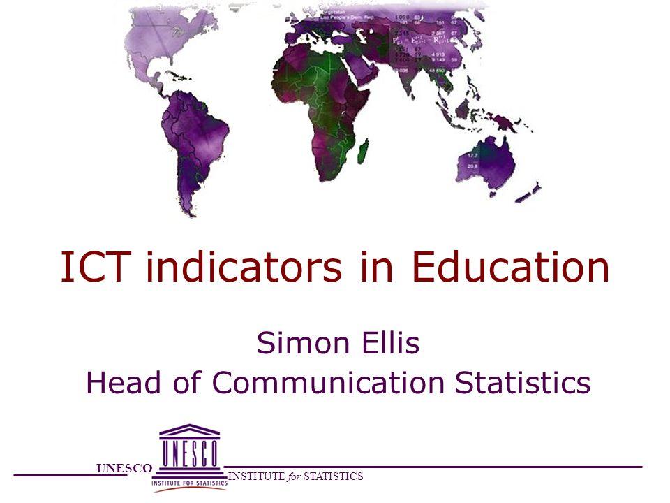 ICT indicators in Education