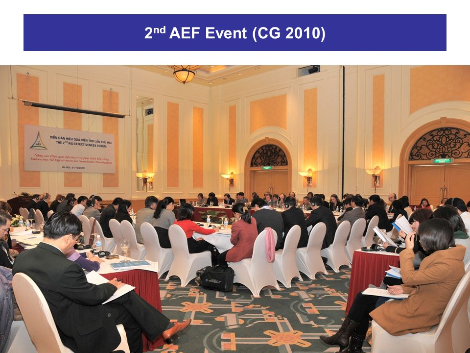 2nd AEF Event (CG 2010)