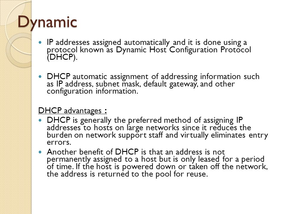 network protocols dynamic host configuration protocol essay List of network protocols - wikipedia, the free encyclopedia page 1 of 5 list of network protocols from wikipedia, the free encyclopedia this is an incomplete list of network protocols, categorized by their nearest open systems interconnection (osi) model layers.
