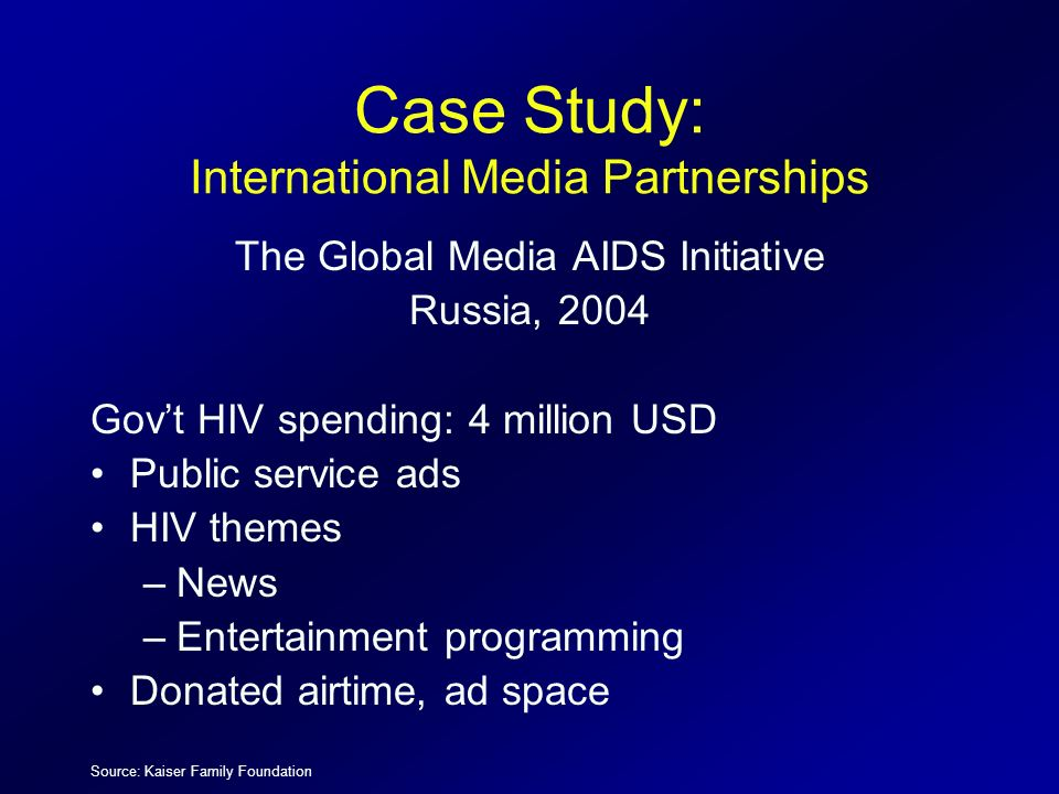 Case Study: International Media Partnerships