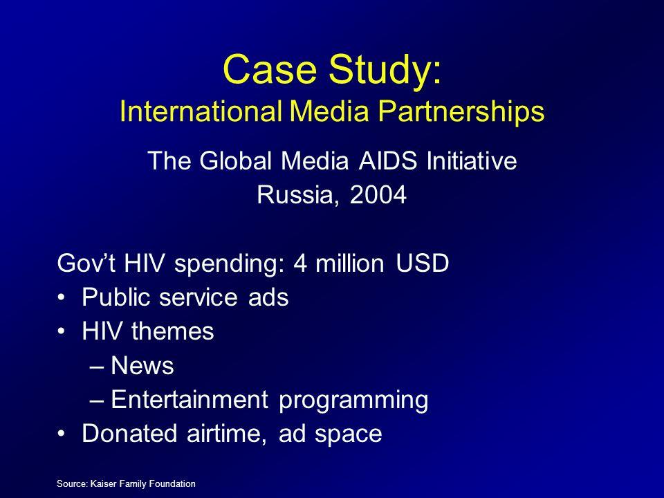 Case Study: International Media Partnerships