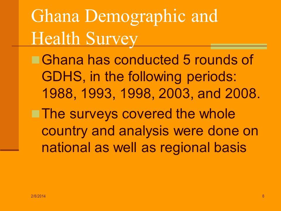 Ghana Demographic and Health Survey