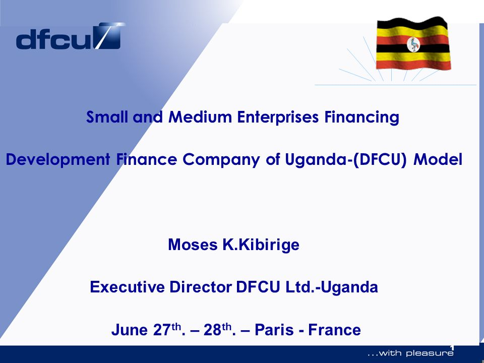 Small and Medium Enterprises Financing