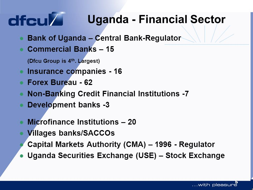Uganda - Financial Sector