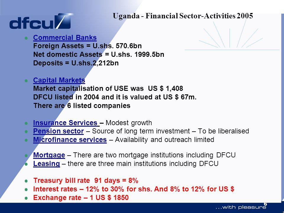 Uganda - Financial Sector-Activities 2005