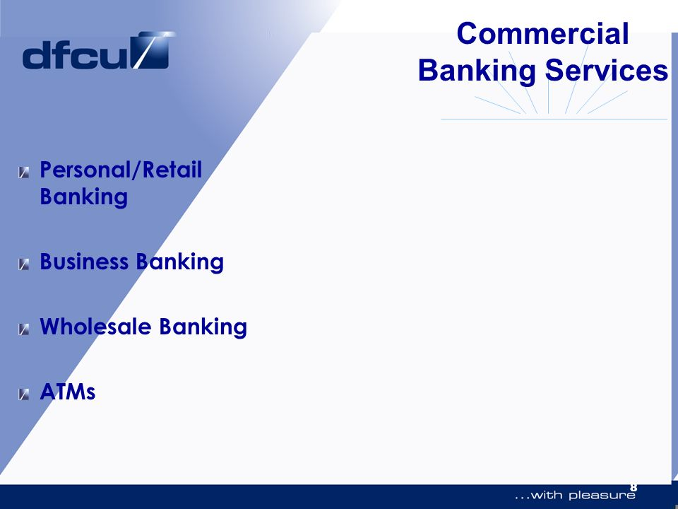 Commercial Banking Services