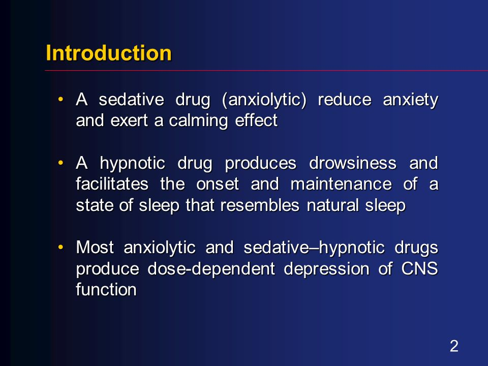 reaction paper to chapter 6 sedative hypnotics Guidelines for the use of benzodiazepines in  applies to benzodiazepines used primarily as anxiolytics and sedative/hypnotics, and  (2 to 6 weeks) of.