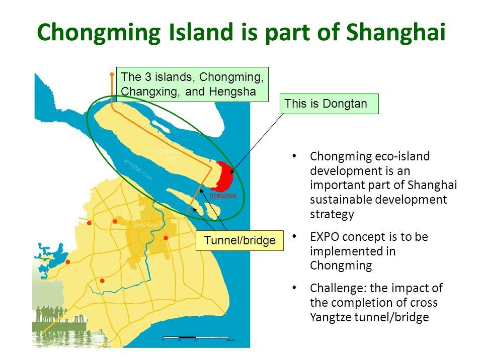 Chongming Island is part of Shanghai