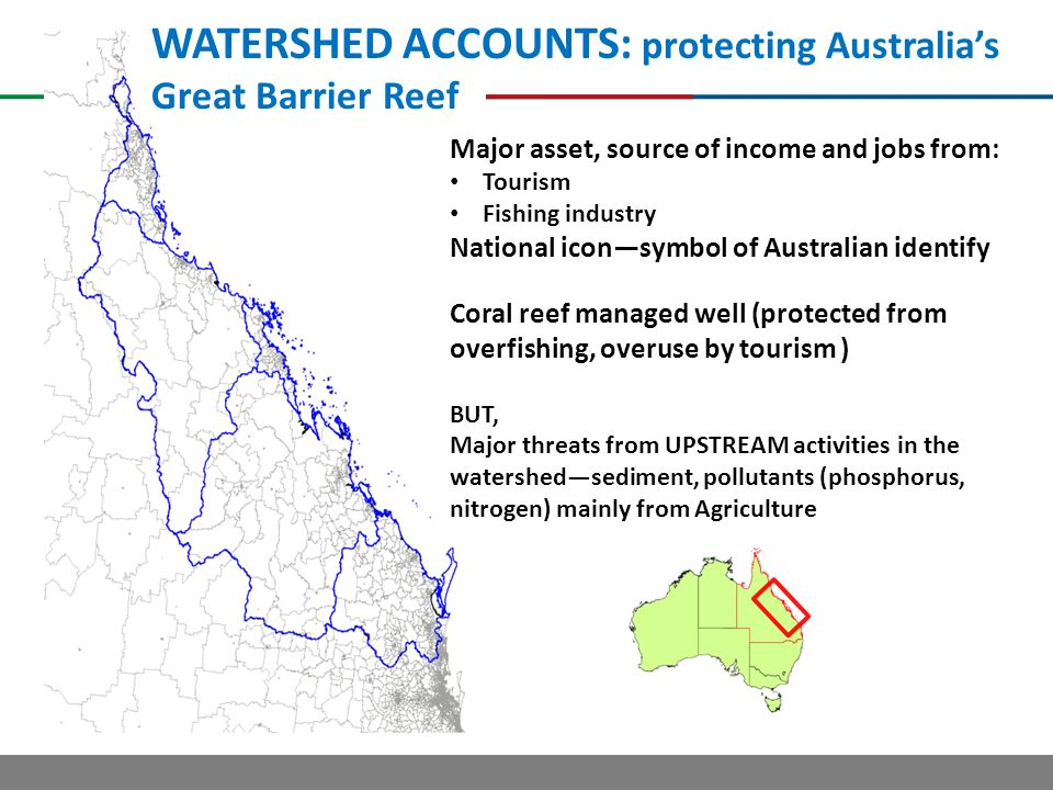 WATERSHED ACCOUNTS: protecting Australia's Great Barrier Reef