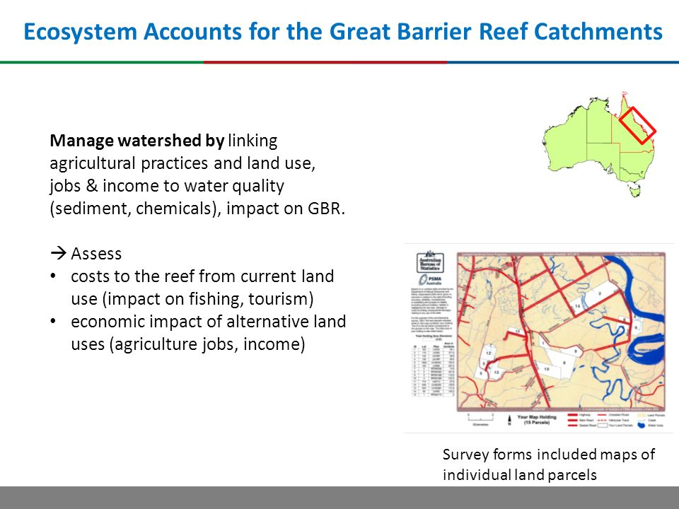 Ecosystem Accounts for the Great Barrier Reef Catchments