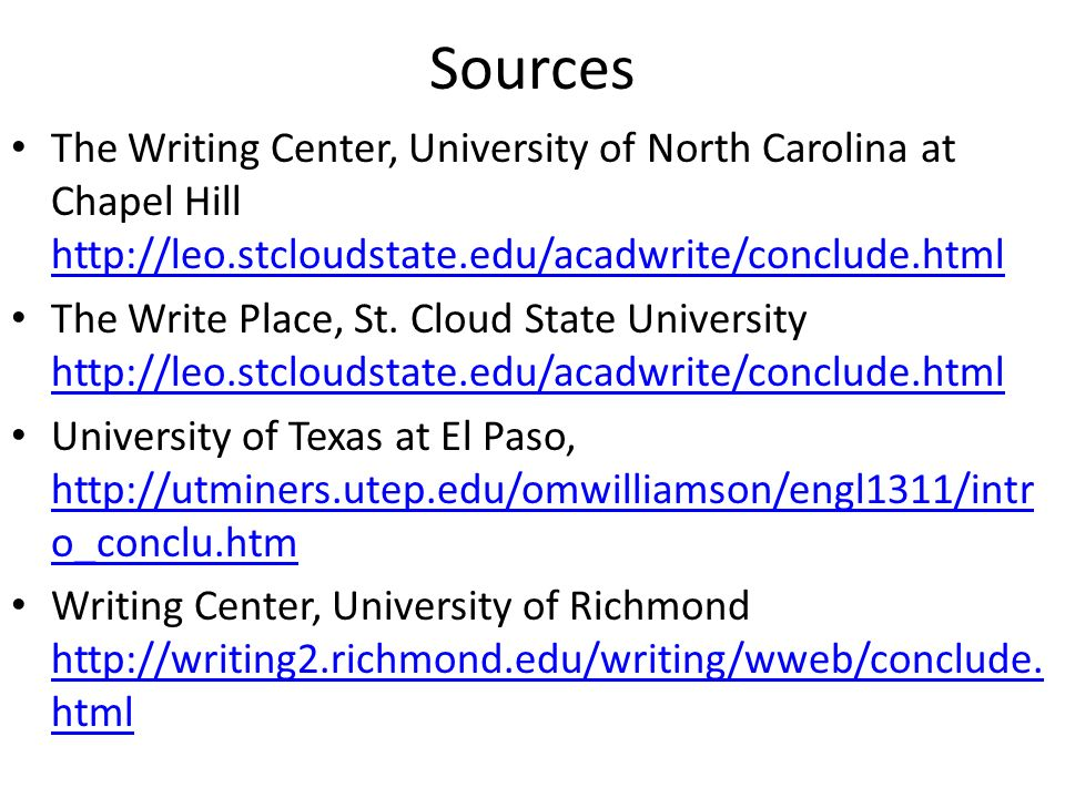 Citing and Writing Tools