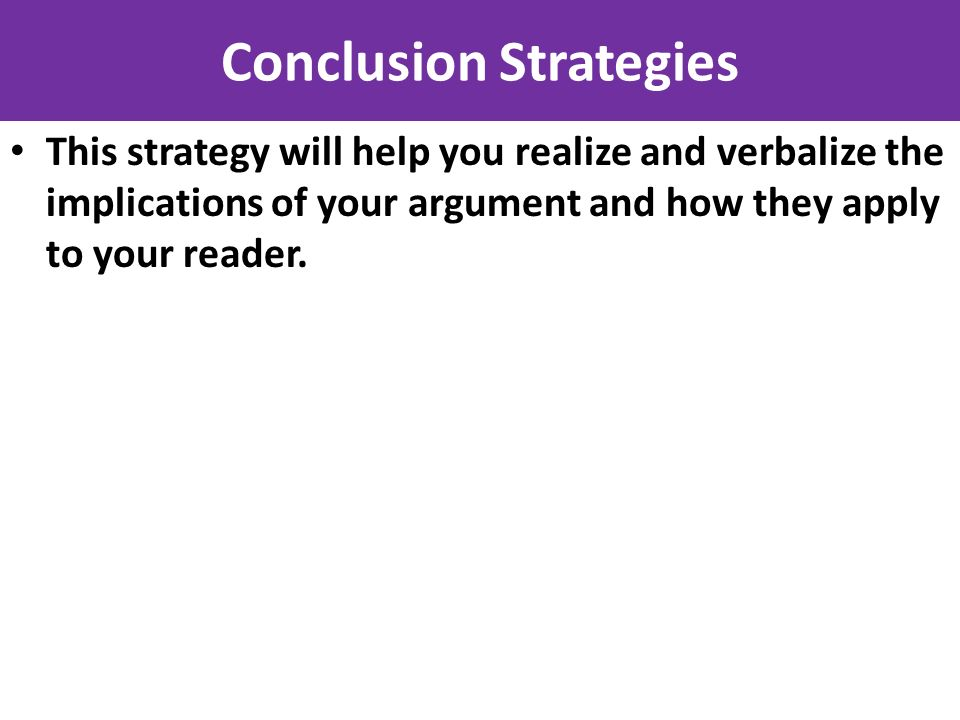 steps to writing a synthesis essay Generic Strategies: Conclusion