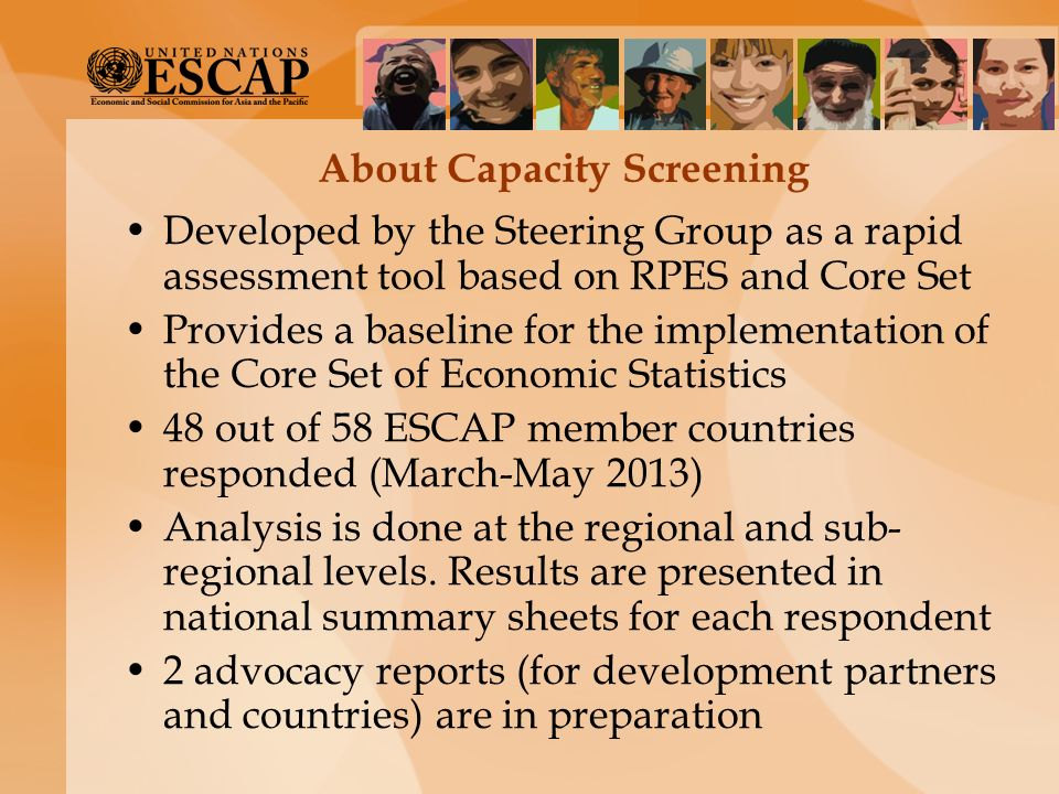 About Capacity Screening