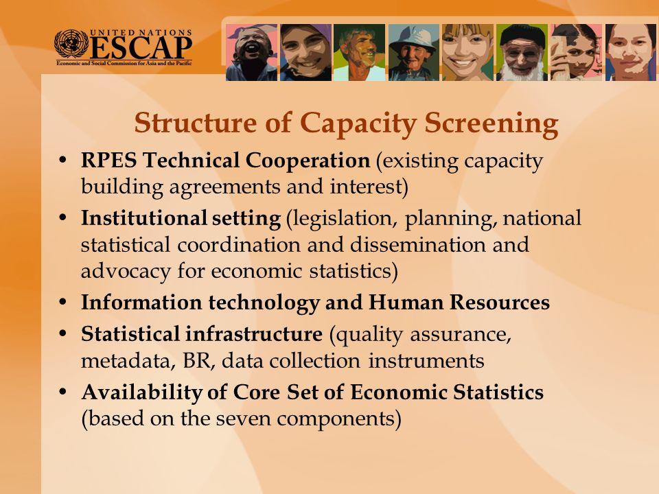 Structure of Capacity Screening