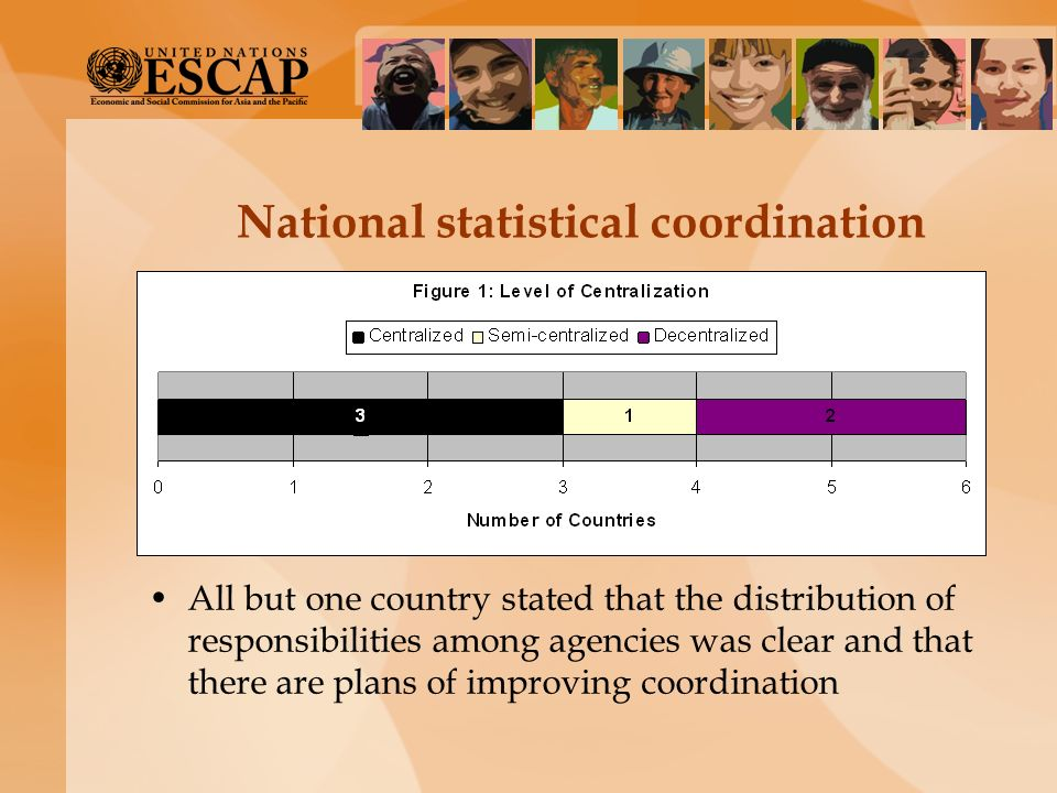 National statistical coordination