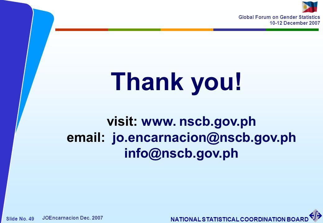 email: jo.encarnacion@nscb.gov.ph