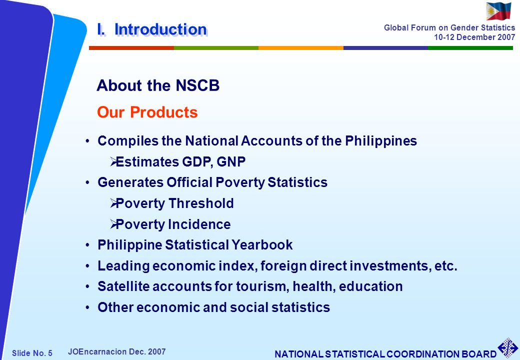 I. Introduction About the NSCB Our Products