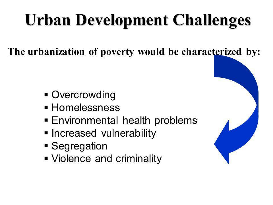 Urban Development Challenges