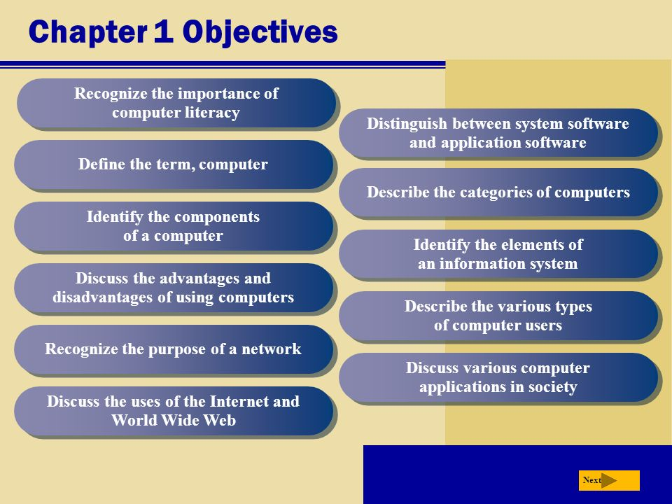 advantages of computer literacy Studying computer literacy: the advantage and disadvantage by computer literacy refers to the although there are many advantages of using computer technology.