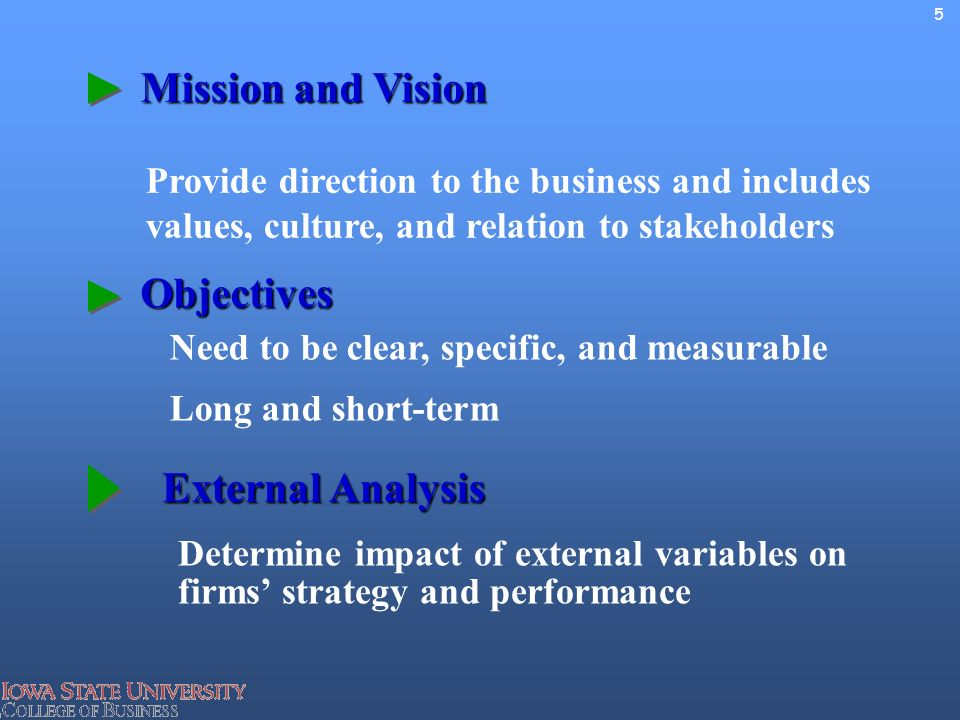 an analysis of the mission and objectives for circus enterprise Well-chosen goals and objectives point a new business in the right direction and keep an established company on the right track tie goals to your mission.