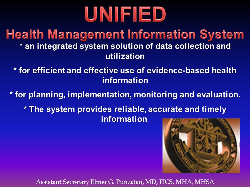 UNIFIED Health Management Information System