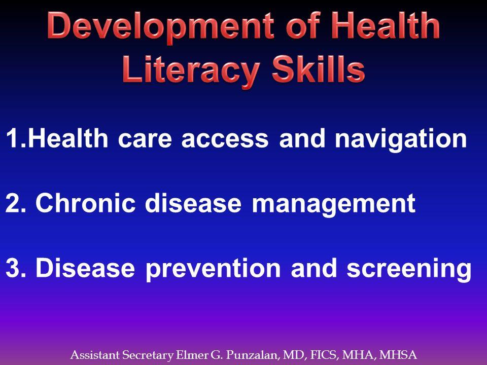 Development of Health Literacy Skills