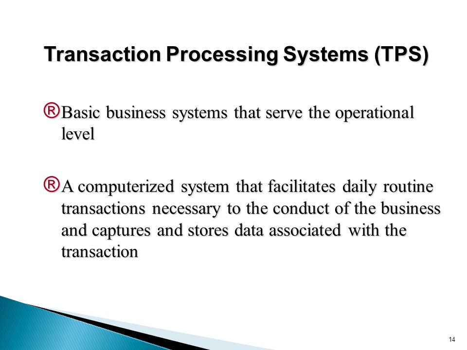 What Are Some Examples of Transaction Processing Systems?