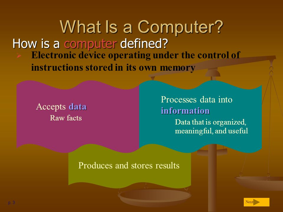 What Is A Computer How Is A Computer Defined Ppt Video Online