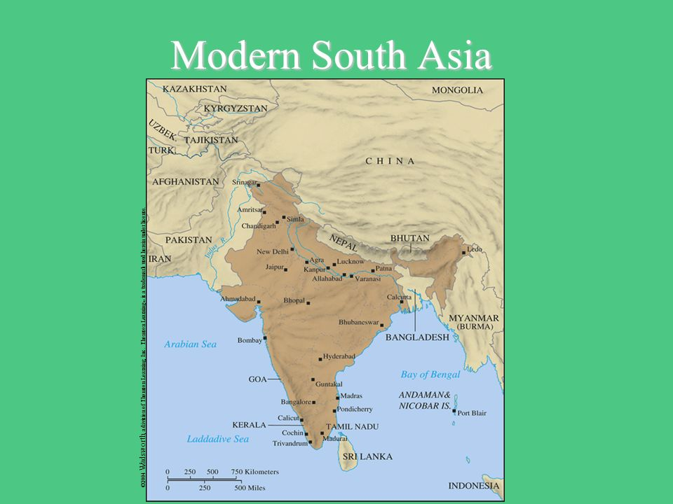 Toward The Pacific Century Ppt Download - South asia political map 2004
