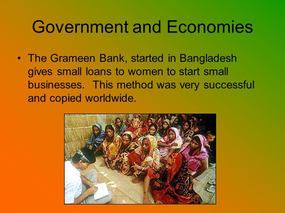 Government and Economies